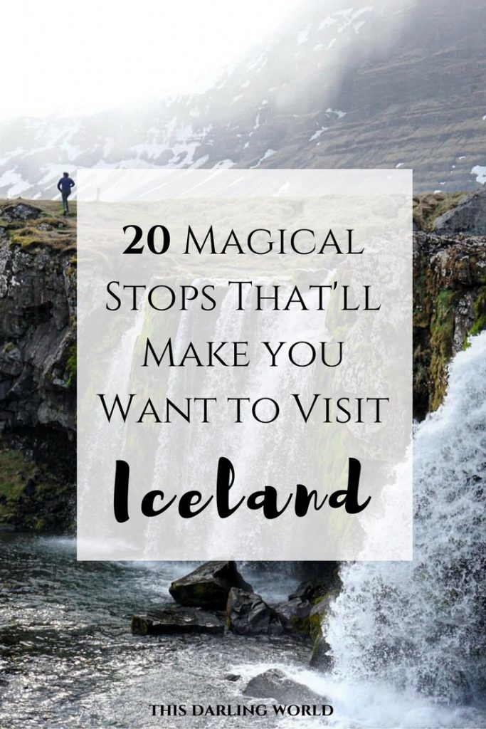 20 Magical Stops That'll Make you Want to Visit Iceland