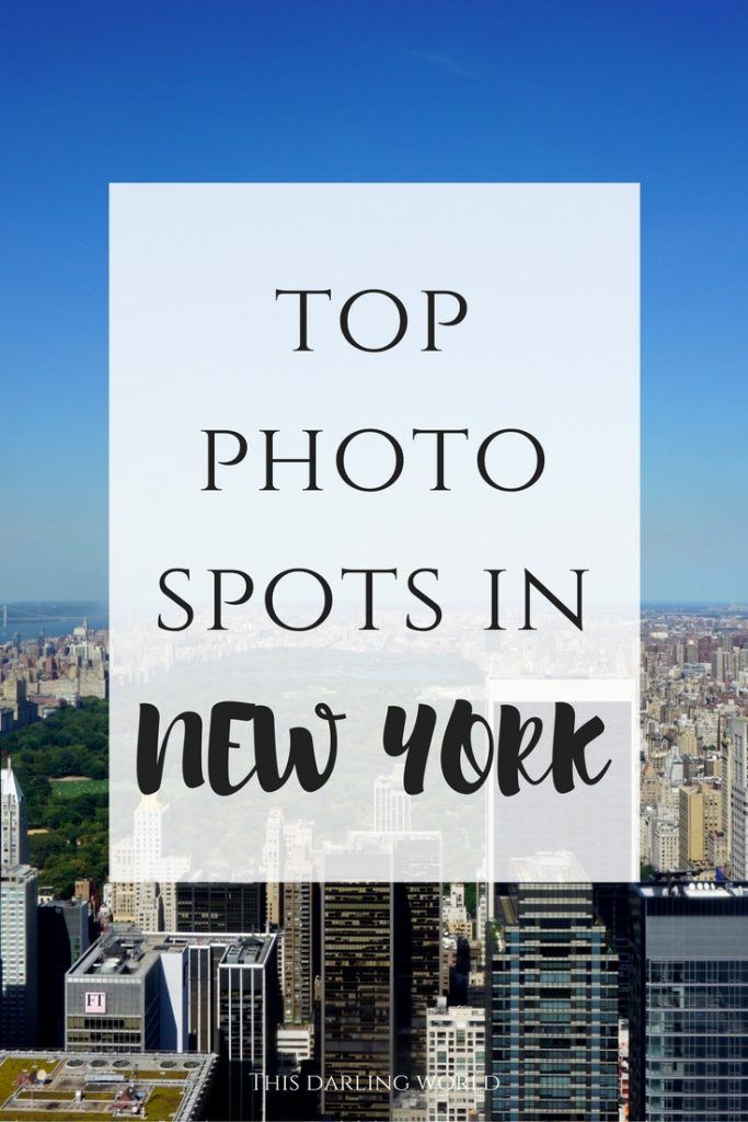 Top photo spots in NYC | thisdarlingworld.com