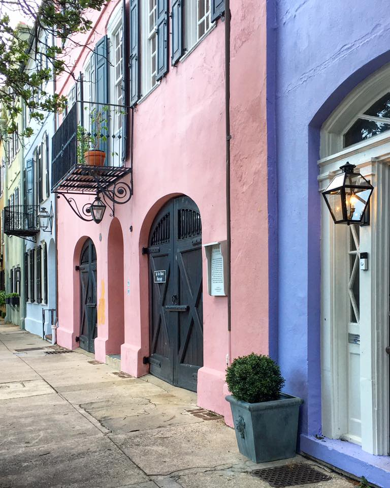 Rainbow Row Charleston SC