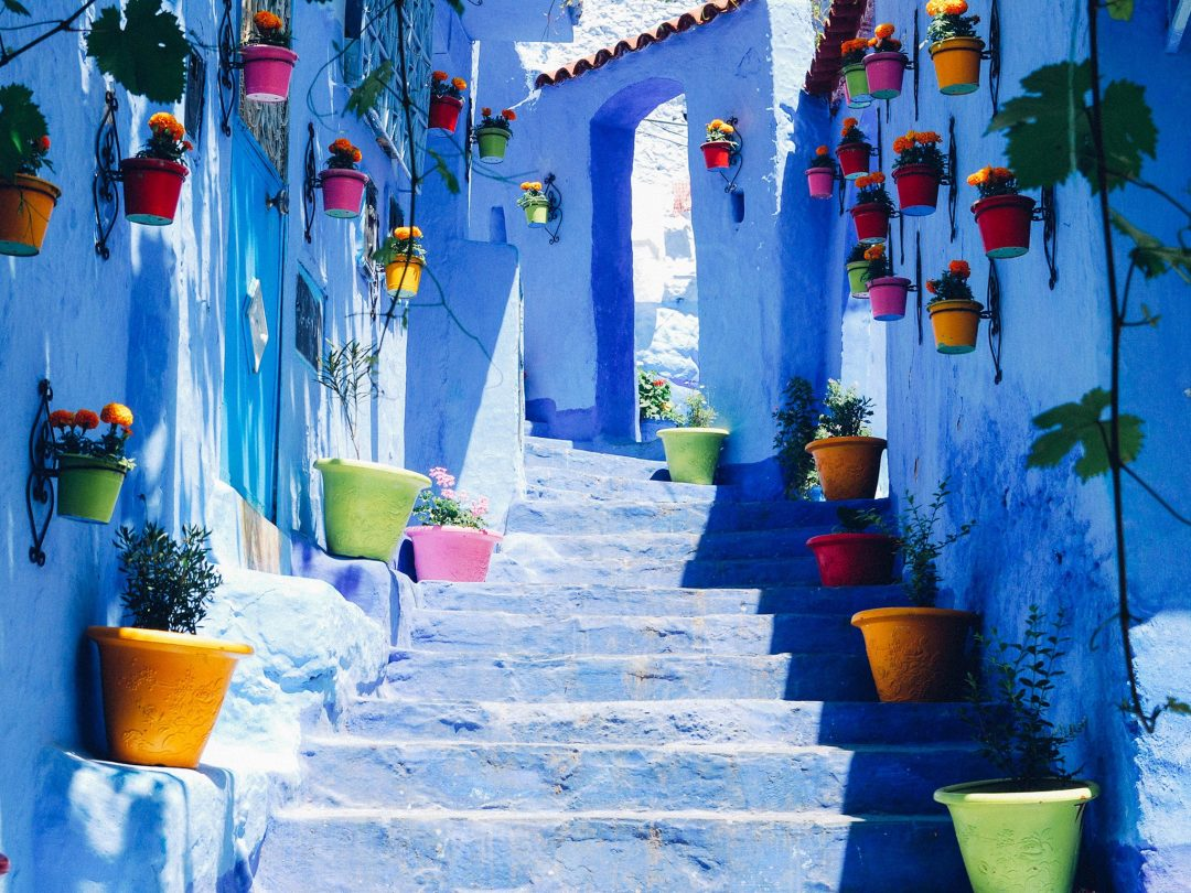vacation ideas 2017 Chefchaouen morocco