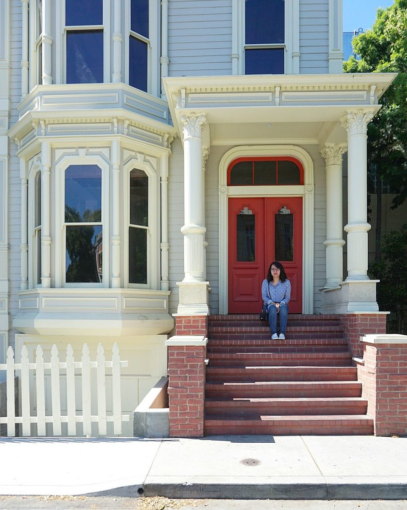 Fuller House set at WB studios!