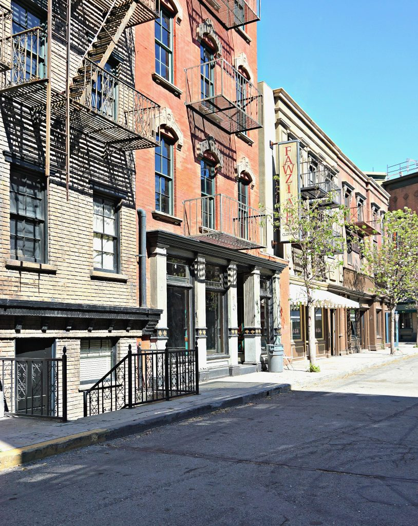 Hennessy Street at the WB Studios, where many movies and shows have been filmed.