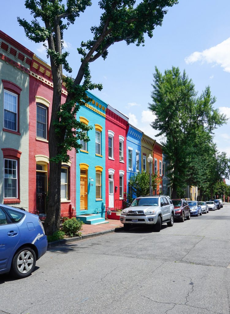 U Street Corridor area in DC