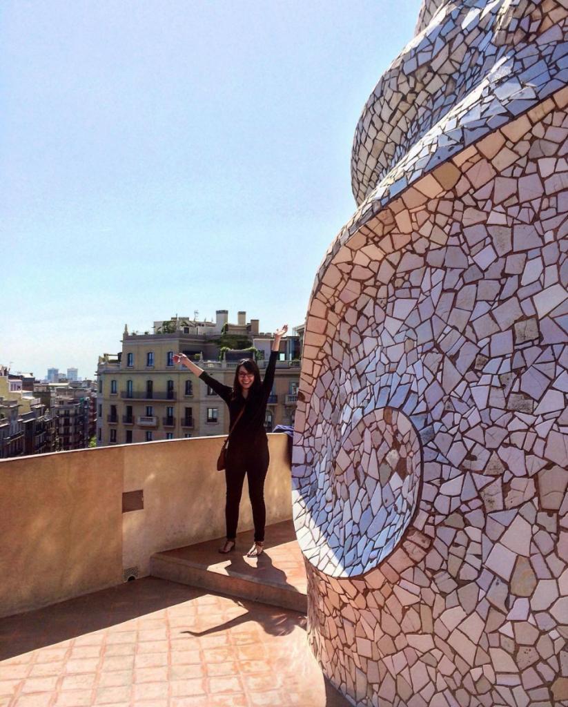 Casa Mila Gaudi Barcelona