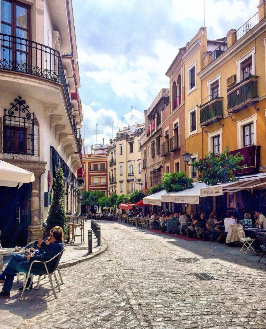 Seville Spain streets